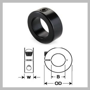 Inch Size Solid Collars