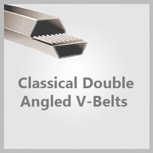 Classical Double Angled V-Belts