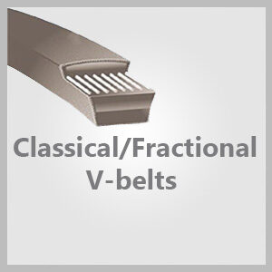 Classical/Fractional V-belts