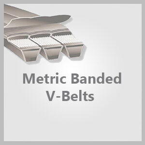 Metric Banded V-Belts